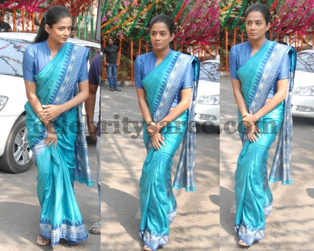 Priyamani Bridal Silk Saree