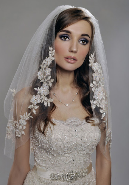 gorgeous wedding veils - belle