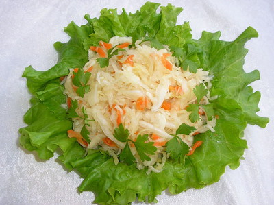 Pickled Winter Cabbage