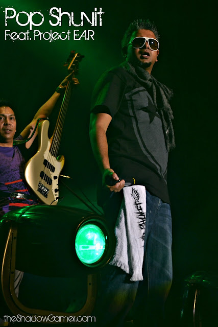 Pop Shuvit performing at Rockaway Festival 2011