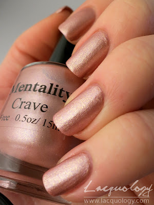 mentality polish crave swatch metallic
