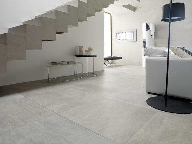 las ventajas de la cermica con apariencia de cemento rodano otra de las novedades que ya se pueden visitar en el showroom de porcelanosa es el gres