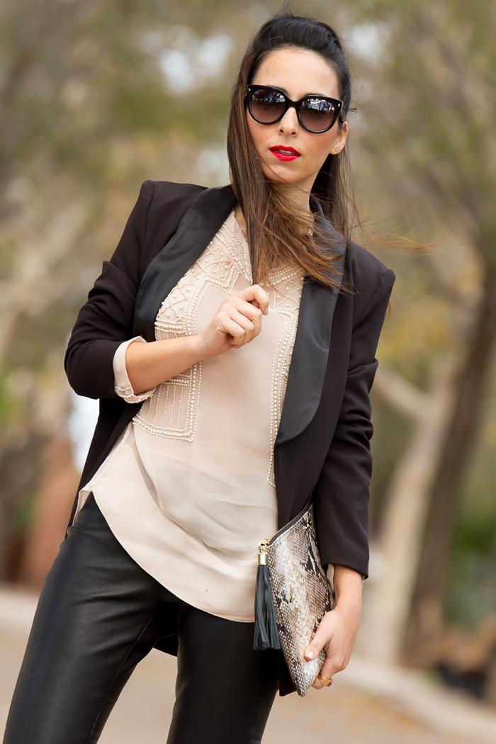 Blogger de Valencia famosa con estilo
