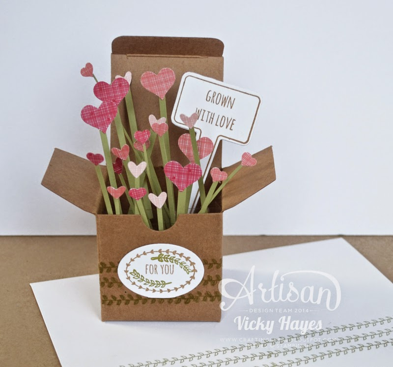 How to make a quick and simple card in a box