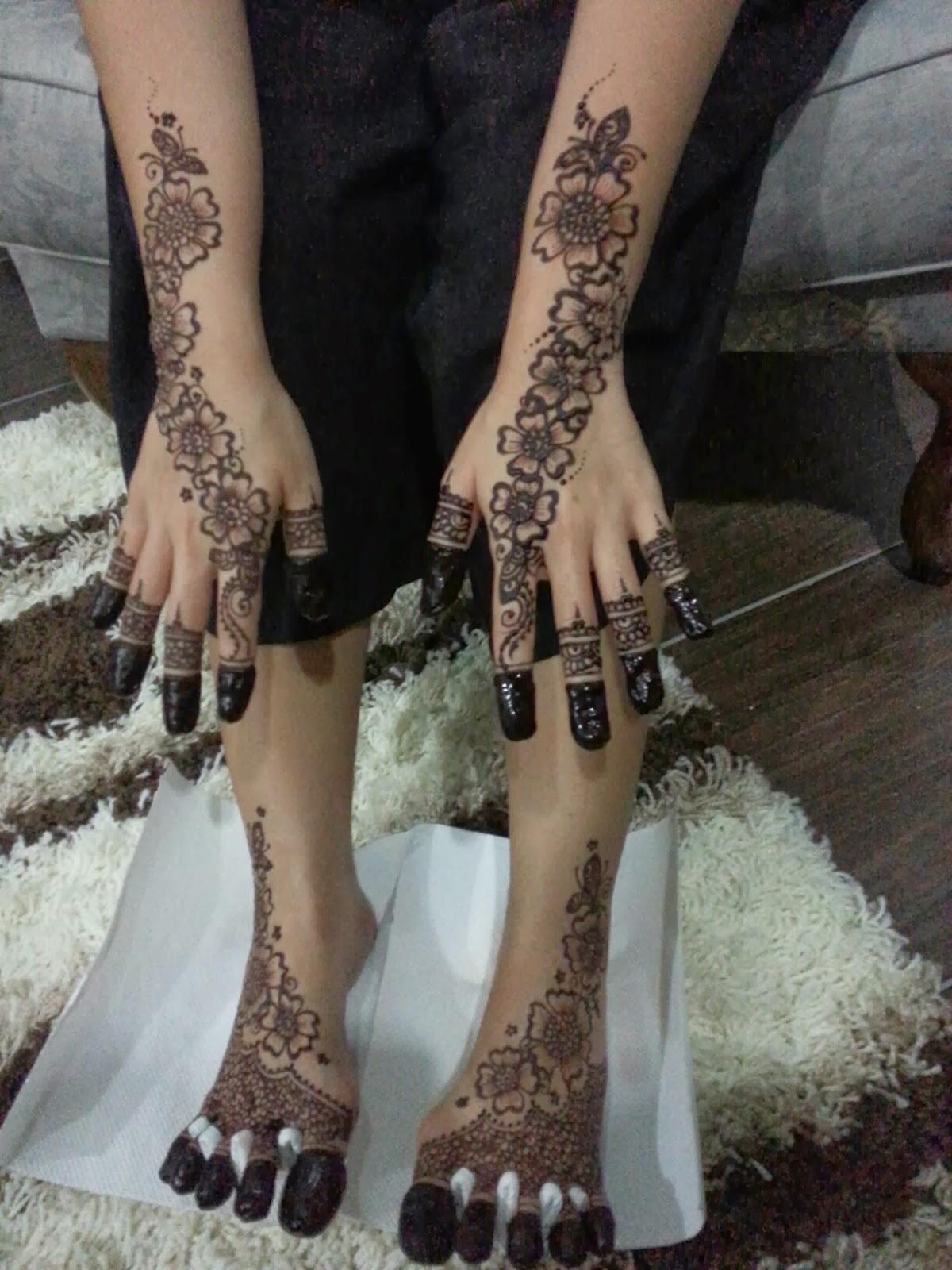 Anne Mahazir Henna Session Malam Berinai Doc Diyana