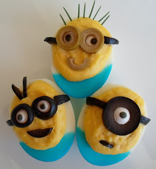 minion deviled eggs