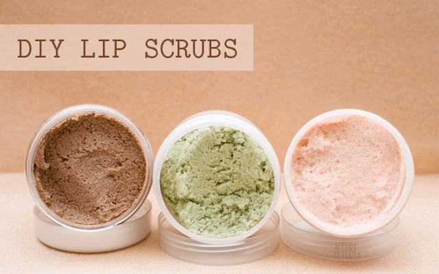 DIY Lip Scrubs