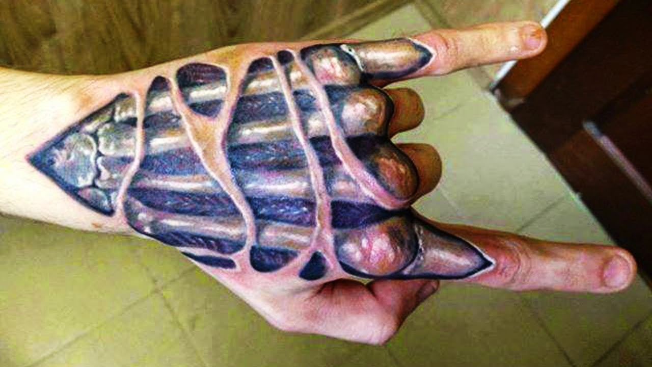 Best 3d mechanics 2015 tattoo art tattoos ideas for 3d hand tattoo