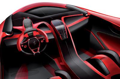 Ferrari EGO Concept Interior