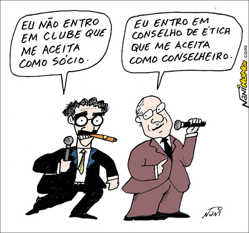 Qual a melhor piada? A de Groucho Mary ou a de Renan Calheiros?