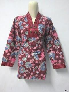 Foto Baju Batik Dinas Terbaru