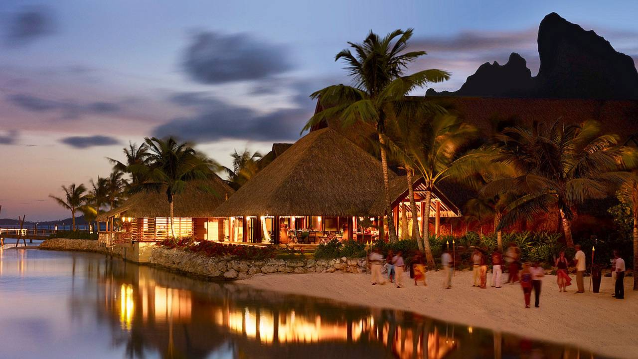 Hotel Intercontinental Bora Bora Resort And Thalabo Spa