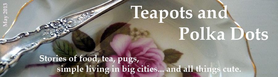 Teapots and Polka Dots