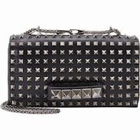 AmberAlert123's Top Pick: Valentino 'Rockstud' Flap Clutch