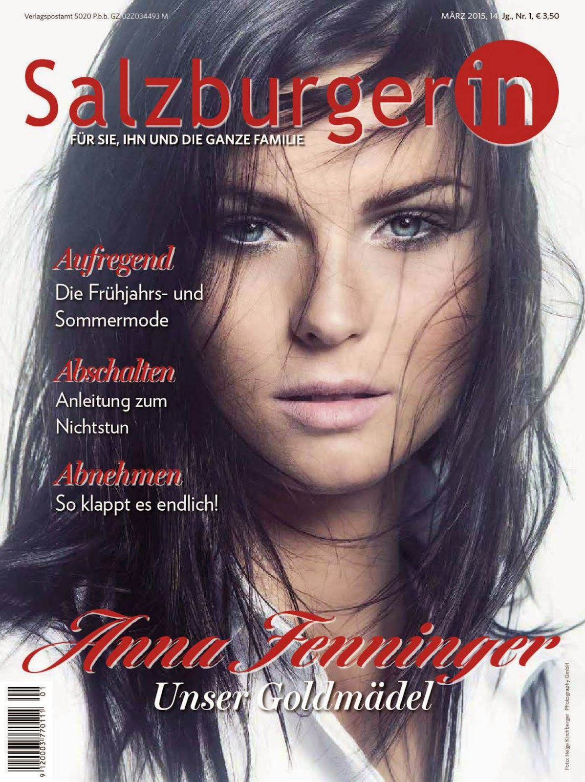 Ski racing,World Cup alpine ski racer and Olympic gold medalist: Anna Fenninger - Salzburgerin  Austria, March 2015