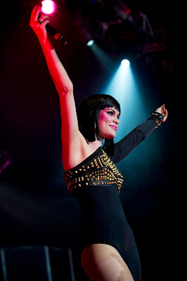 Jessie J In A Catsuit