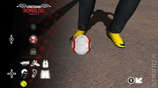 screenshots game Cristiano Ronaldo Freestyle Soccer terbaru