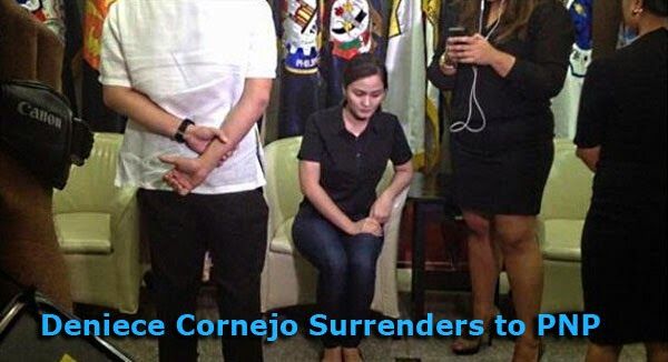 Cornejo's surrender to the PNP was past 4 p.m May 5, 2014