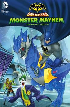 Batman Sin Limites Caos Monstruoso (2015) DVDRip Latino