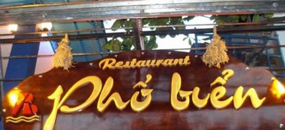 Bảng hiệu quảng cáo chữ nổi gỗ ở Đà Nẵng