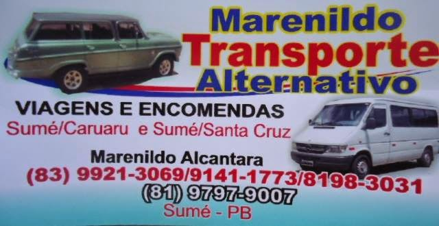 Marenildo Transporte Alternativo
