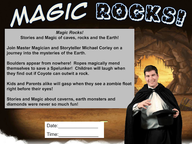 Magician Michael Corley Summer Reading Program 2013