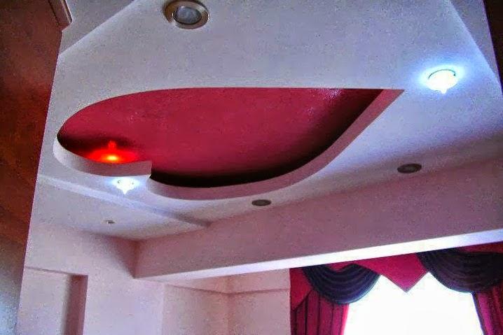 D coration salon marocain faux plafond suspendu pl tre for Staff plafond chambre a coucher