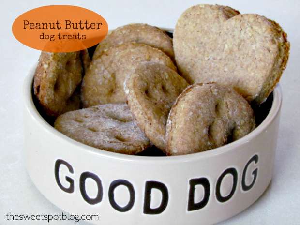 http://thesweetspotblog.com/peanut-butter-dog-treats/