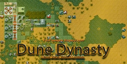 Dune Dynasty - Free Classic Real-time Strategy Remake