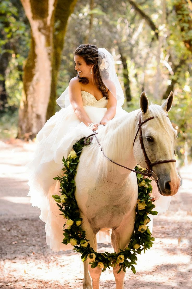 More Ways to Bring Your Horse into Your Wedding | The ...