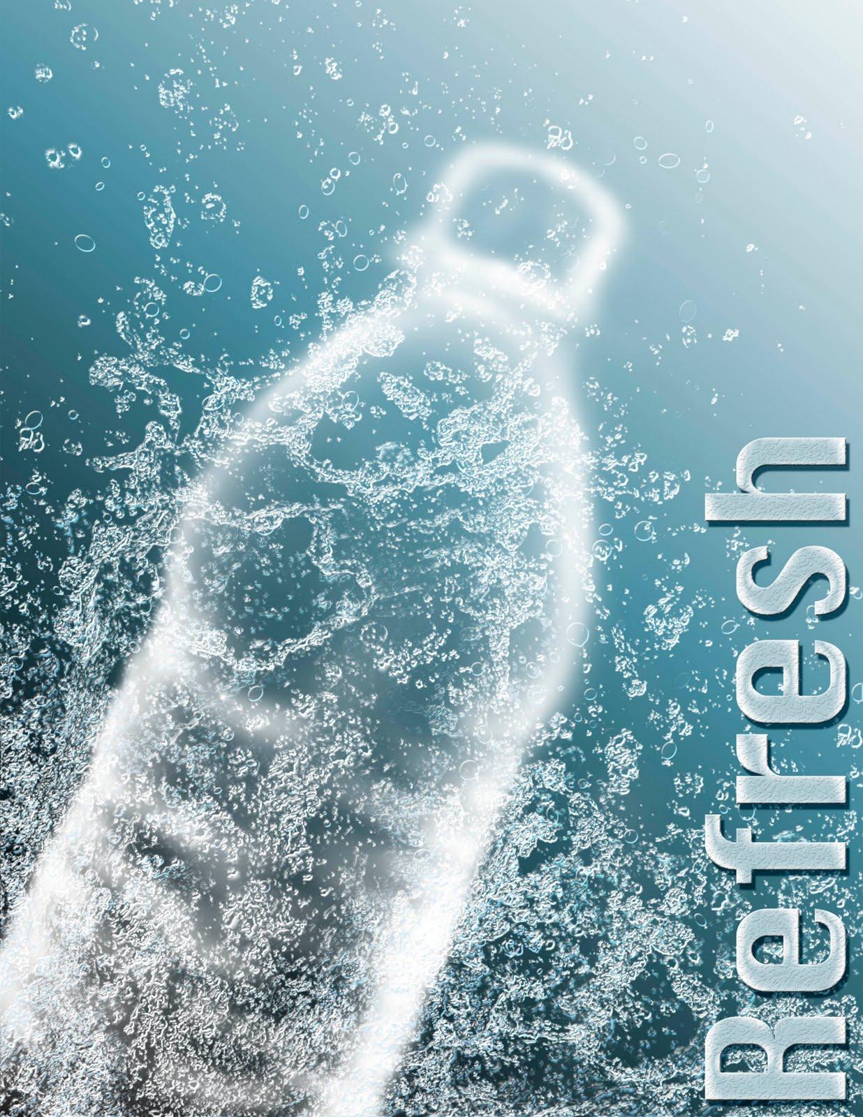 Refreshing Bottled Drinks Refreshing Drink of Water