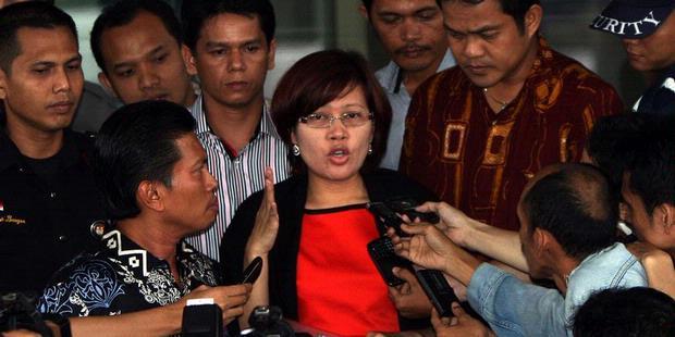 angelina sondakh dalam dugaan kasus pidana penyuapan pembangunan gedung di Palembang, 2011
