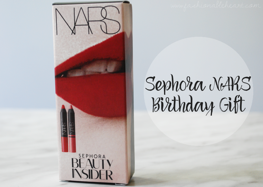 Sephora Nars Lipstick Birthday Gift Set Free Beauty Insider