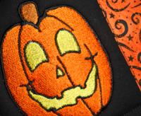 Sew 'n Sew Halloween Mug Rugs - Halloween Pumpkin