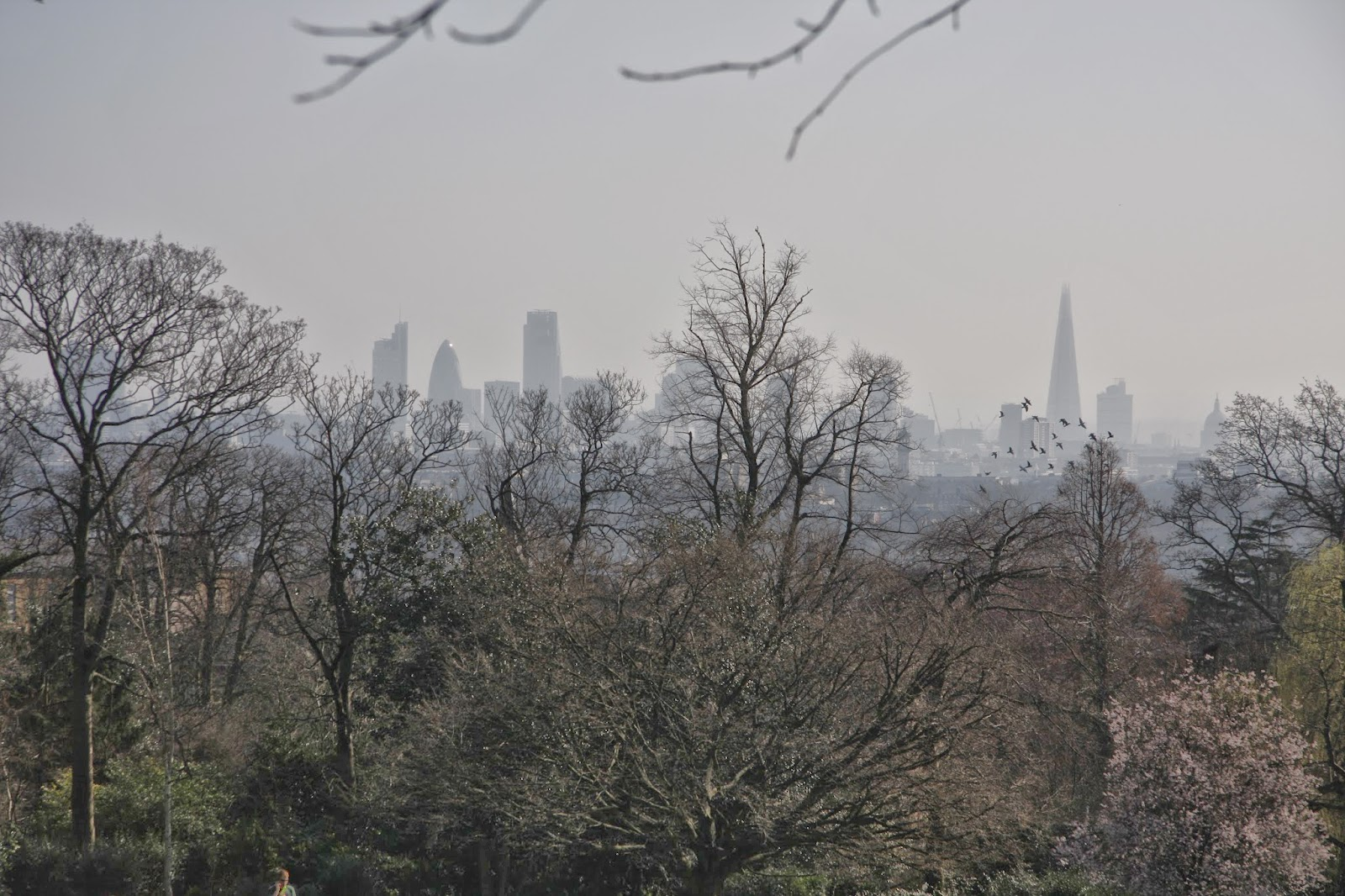 A Hazy Day in London - From Highgate