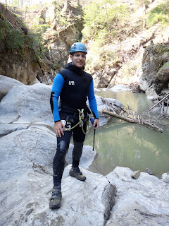 Canyoning in Chli Schliere