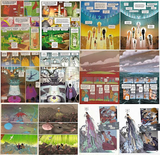 Ejemplos de recoloreado en El Incal