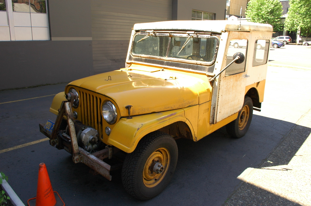 Old Parked Cars 1955 Willys Jeep