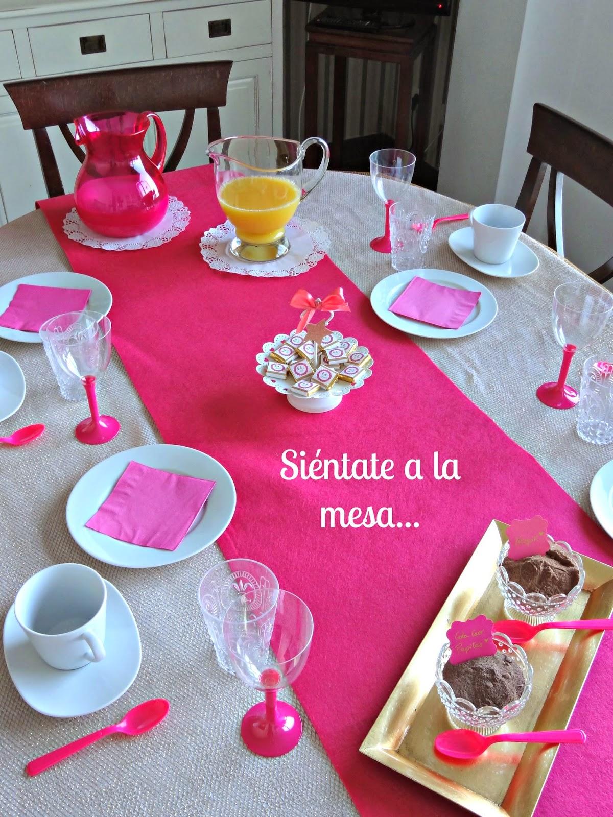 Celebra con ana compartiendo experiencias creativas desayuno deluxe - Mesas de desayuno ...