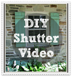 Make your own Shutters