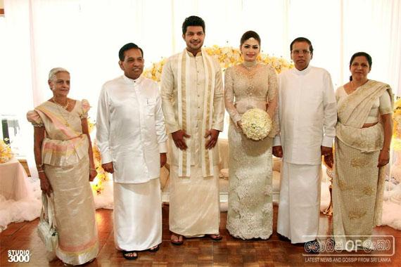 Hirunika Premachandra and Hiran Yattowita wedding day photos