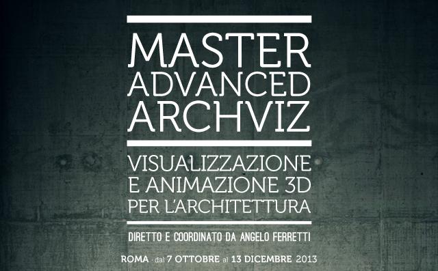 In visualizzazione e animazione 3d per l'architettura - prima edizione