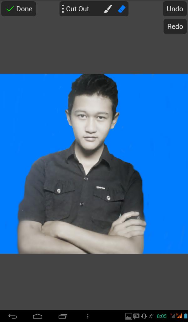 [Tutorial] Cara ganti baground dengan PicsayPro Android - AzisJS