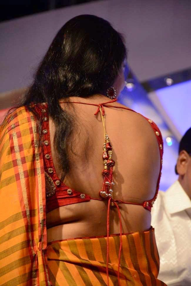 Padma Priya In Backless Blouse