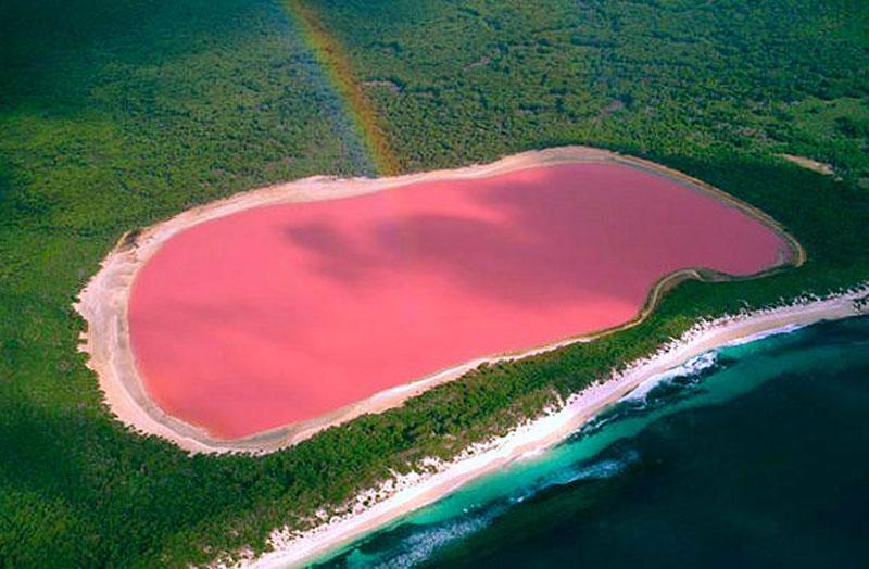 Pink LakesPink Lake Map