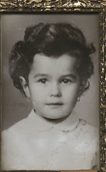 Olivia Maria Marcov in 1972 (4 years old),str.Sebastian,where was living grandfather Paraschiv