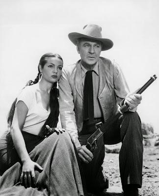 Gary Cooper y Sara Montiel