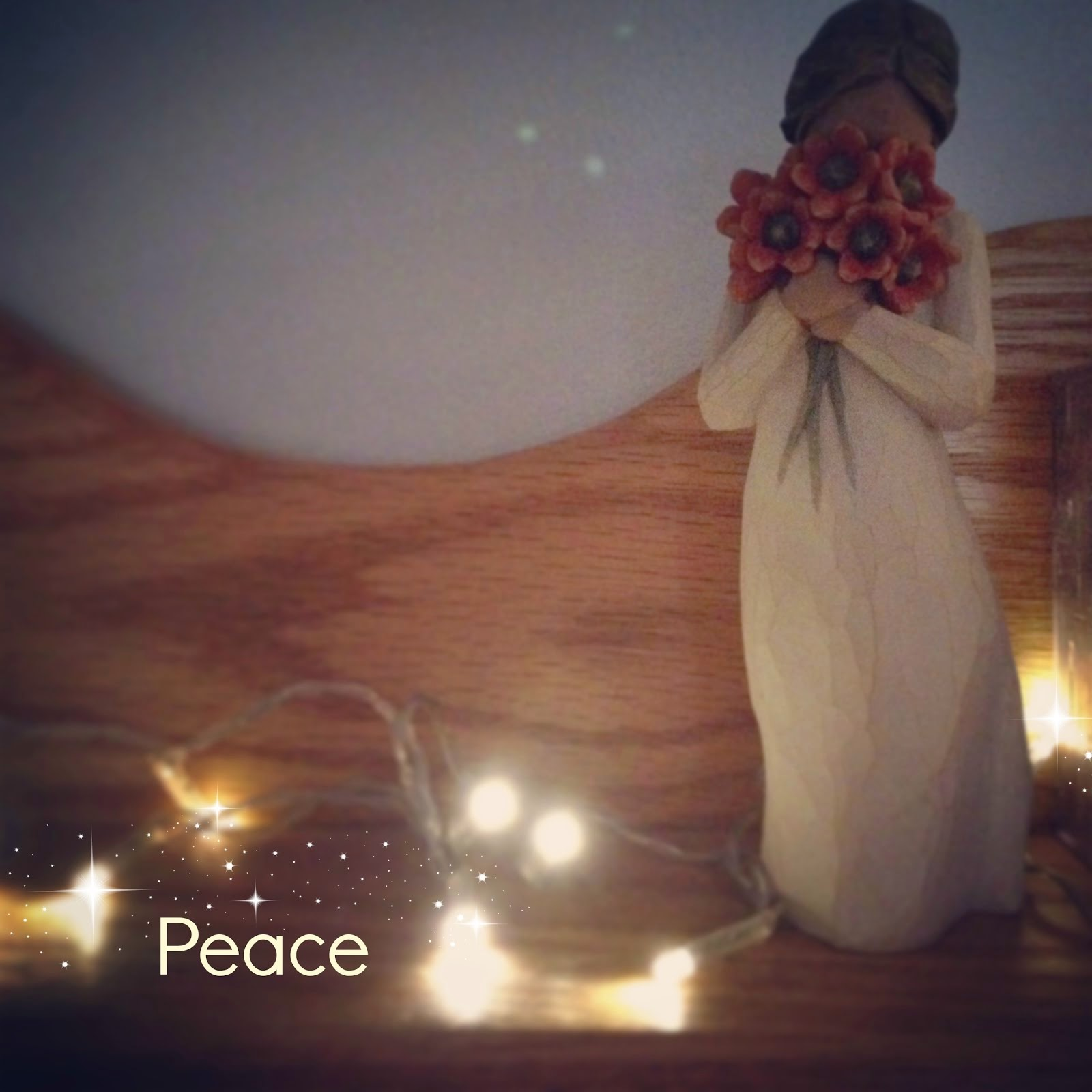 Peace is my word for 2015