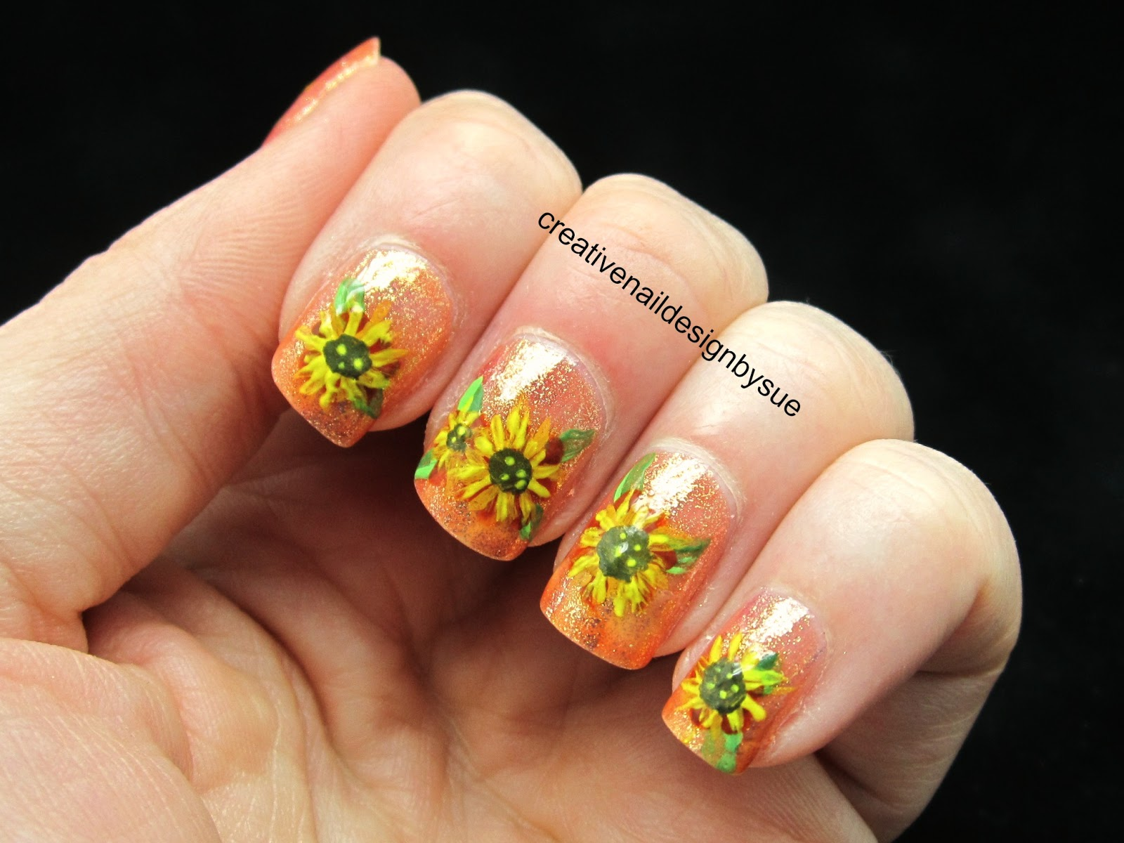 Creative Nail Design by Sue: Fall Into Autumn Challenge-Fall Harvest