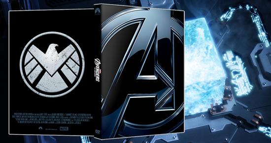 Os Vingadores - Capa para DVD